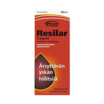 RESILAR 3 mg/ml oraaliliuos 200 ml