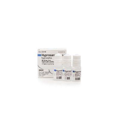 HYPROSAN 3,2 mg/ml silmätipat, liuos 3x10 ml