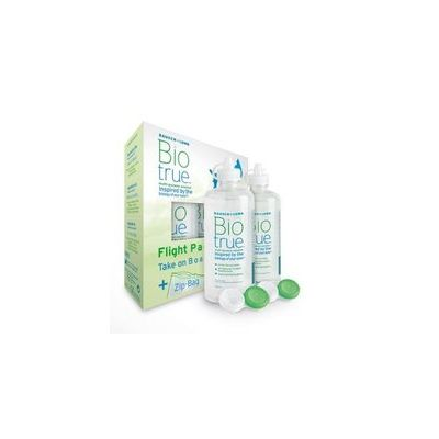 BIOTRUE MULTI-PURPOSE SOLUTION FLIGHT PACK X2X60 ML