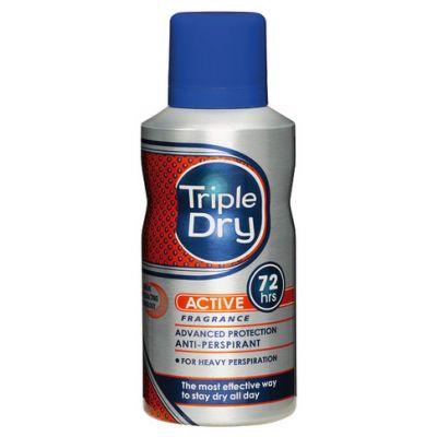 TRIPLE DRY MENS ACTIVE FRAGRANSPRAY 72H   X150 ML