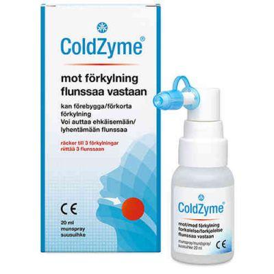 COLDZYME FLUNSSAA VASTAAN SUUSUIHKE 20 ml