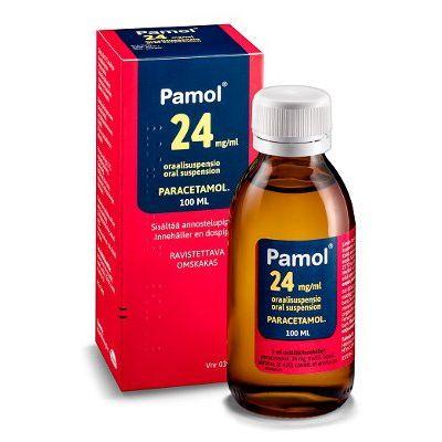 PAMOL 24 mg/ml oraalisusp 100 ml