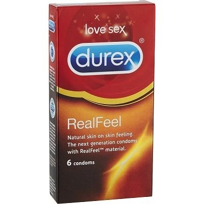Durex Real Feel kondomi X6 kpl