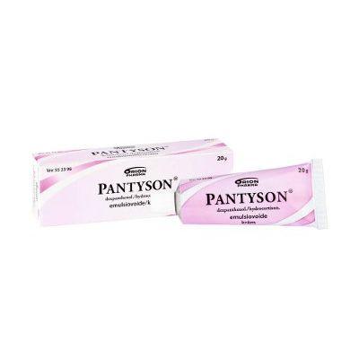 PANTYSON 10/20 mg/g emuls voide 20 g