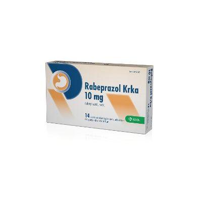 RABEPRAZOL KRKA 10 mg enterotabl 14 fol