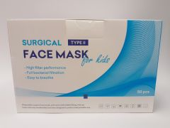 Face mask for kids surgical type II 50