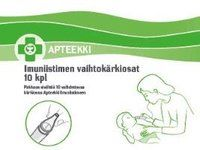 APTEEKKI IMUNIISTIMEN VAIHTOKÄRKIOSAT X10 KPL