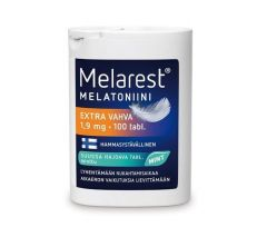 MELAREST MELATONIINI EXTRA VAHVA MINT 1,9 MG 100 tabl