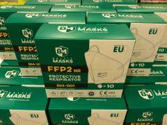 FFP2 Baltic masks ilman venttiililä 10